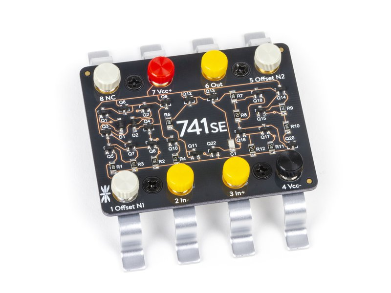 741SE - Discrete 741 Op-amp Kit